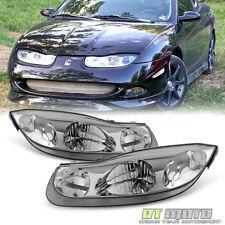 2001 2002 Saturn SC Series SC1 SC2 Coupe Headlights Head Lamps Left+Right 01-02