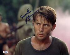 Martin Sheen Apocalypse Now Signed Authentic 11X14 Photo Psa/Dna #M42590