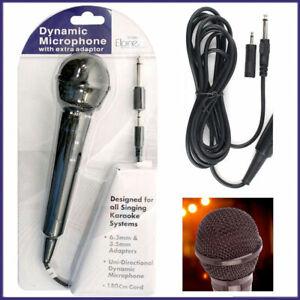 Microphone Dynamic Directional Home Party DJ Karaoke Singing Mic