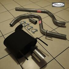 Exhaust System Rear Silencer +Pipe ALFA ROMEO 159 1.9 2.0 2.2 2.4 JTS  JTDM 90mm