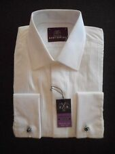 Double Cuff Machine Washable Short Formal Shirts for Men