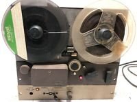 Vintage Ampex Reel to Reel Player W/ Out Case COOL OLD RESTORE DIY DECOR PROP