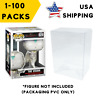 """Lot 5 20 60 100 Collectibles Funko Pop Protector Case for 4"""" inch Vinyl Figures"""