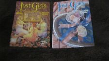 kLost Girls Volumes 1 and 2 By Alan Moore and Melinda Gebbie Comic Books