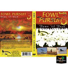 FOWL PURSUIT 3 DAWN 'TIL DUSK SHAWN STAHL RNT CALLS DUCK GOOSE HUNTING VIDEO DVD