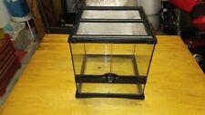 Terrario Exoterra vetro glass per rettili ragni piccoli animali 30x30x30 ottimo