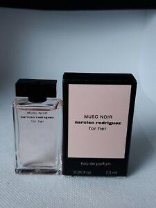 Miniature musc noir narciso rodriguez. Eau de parfum. 7.5 ml