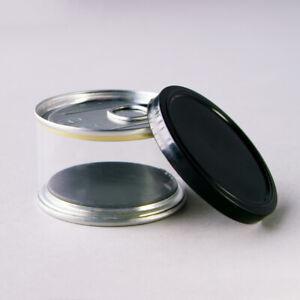 CLEAR Press It In Tins Tuna Tins Cali Tins with Lids Self Seal 150ml / 3.5g