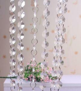 Crystal Beaded Garland Hanging DIY Wedding/decor 1 Metre Long Christmas summer