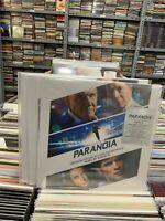 Paranoia Original Motion Picture Soundtrack LP Junkie XL Translucid Blue Vinyl