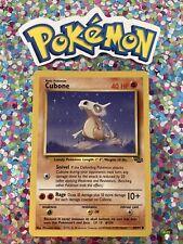 �� Cubone Jungle Set Pokemon Card Wizards WotC Game Freak Nintendo 1999 �