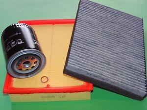 kl. Inspektionspaket Filterset Filtersatz Skoda Superb 3U 2.8 V6 142kW/193PS
