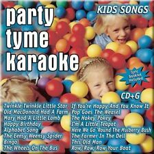 NEW Party Tyme Karaoke - Kids Songs (16-song CD+G) (Audio CD)