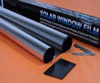 SILVER MIRROR 15% CAR WINDOW TINT ROLL 6M x 75CM FILM TINTING