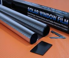 3M X 75CM SILVER CHROME MIRROR 15% CAR WINDOW TINT ROLL FILM TINTING