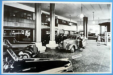 "1938 Chevrolet Showroom 12 x 18"" Black & White Picture"