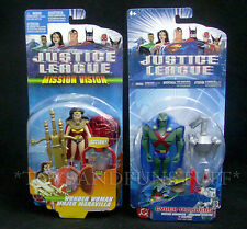 Mission Vision WONDER WOMAN & MARTIAN MANHUNTER Cyber Trakker - Justice League