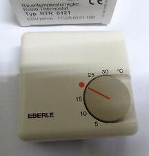 Eberle RTR-6121 mechanical room thermostat 17225-6121-100 Europa S  5'C to 30'C