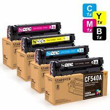 4 XXL Toner CF540A 203A für HP Color LaserJet Pro MFP M281fdw M254dw nw Drucker