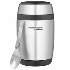 Thermos barril de acero inoxidable Frasco Tarro de alimentos con cuchara 400 Ml