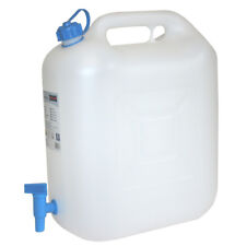 Wasserkanister ECO 22 Liter mit Hahn Camping-Kanister Wassertank Trinkbehälter