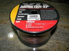 Monster Cable XP Hi-Performance Speaker Cable XPMS 100-Ft  **NEW**