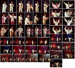 "72 6""x4"" Blizzard Of Oz concert photos Coventry1980 / Port Vale 1981"