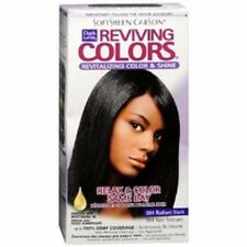 Dark and Lovely Reviving Colors Nourishing Color & Shine, Radiant Black 391