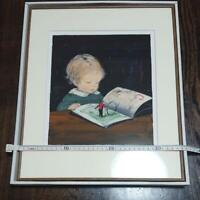 KOMAKO SAKAI PICTURE BOOK ART PRINT RARE COLLECTIBLE JAPANESE JAPAN ARTIST F/S