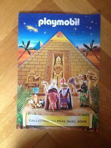 catalogue jouets PLAYMOBIL collection père Noël 2009 rare