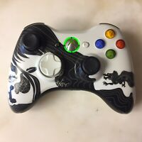Xbox 360 Walmart Exclusive Wireless Special Edition Dragon Controller Working