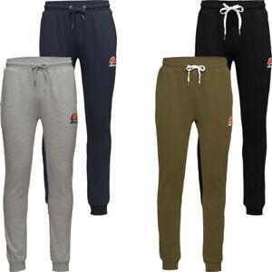 Ellesse Mens Joggers Jogging Sweatpants Gym Running Fleece Bottoms Pants Size