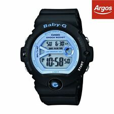 Casio Baby-G Black Digital Strap Watch.