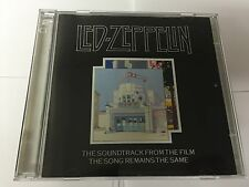 Led Zeppelin ‎– The Song Remains The Same Swan Song ‎GERMAN PRESS 2 CD