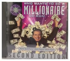 Who Wants to Be a Millionaire CD-ROM: 2nd Edition (Win/Mac) BRAND NEW SEALED