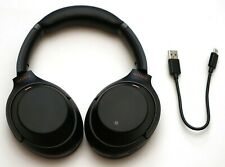 SONY WH-1000XM3 Wireless Noise Cancelling Stereo Headphones WH1000XM3 BLACK
