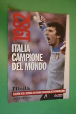 ITALIA CAMPIONE DEL MONDO SPAGNA 1982 AZZURRI   RISTAMPA DE L'UNITA'   (2)