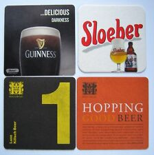 GUINNESS NEW ZEALAND SLOEBER HOPPING BEER LUXE KOLSCH BEER MATS / ALE COASTERS