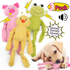 3 Packs For Dog Toy Play Funny Pet Puppy Chew Squeaker Squeaky Plush Sound Toys