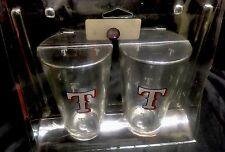 MLB TEXAS RANGERS 16oz GLASSES 2Pack MADE IN THE USA BOELTER BRANDS NEW
