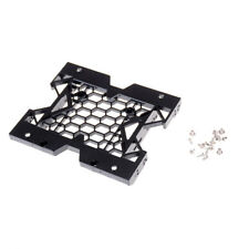 "Hot 5.25"" to 3.5"" 2.5"" SSD Hard Drive Adapter TRAY with Screws can mount Fan OT"