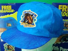 "Vintage 1990 JOE CAMEL Tie Dye Blue ""Smooth Character"" BASEBALL CAP. NEW. NO BOX"