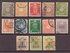 Japan, Issues of 1899 - 1937, Used, OLD