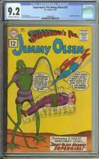SUPERMAN'S PAL JIMMY OLSEN #57 CGC 9.2 OW/WH PAGES
