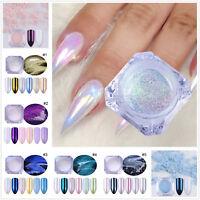 Pearl Nail Art Glitter Powder  Dust Chrome Pigment BORN PRETTY