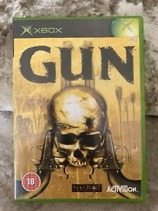 Gun (Xbox) with manual and free uk postage