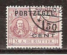 P32 Port  32 used gestempeld NVPH Nederland Netherlands due portzegel