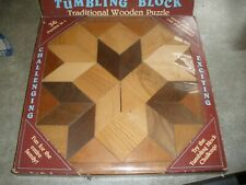 Tumbling Block Traditional Wooden Puzzle 36 Puzzles in 1
