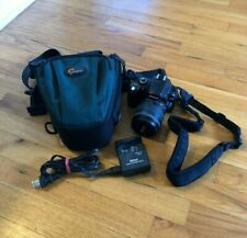 Nikon D40X Digital Camera with ED IF Aspherical 62 Lens and Lowepro Camera Case