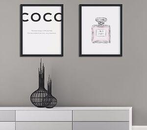 Modern Print Set, Minimalist Wall Art, Minimalist Prints, Perfume Print, Quotes